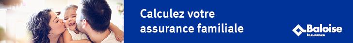 Calculez votre assurance Rc vie privée chez  Baloise